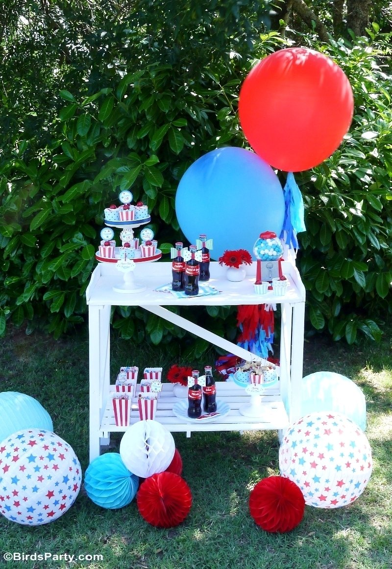 4th of july garden picnic party ideas - party ideas | party printables