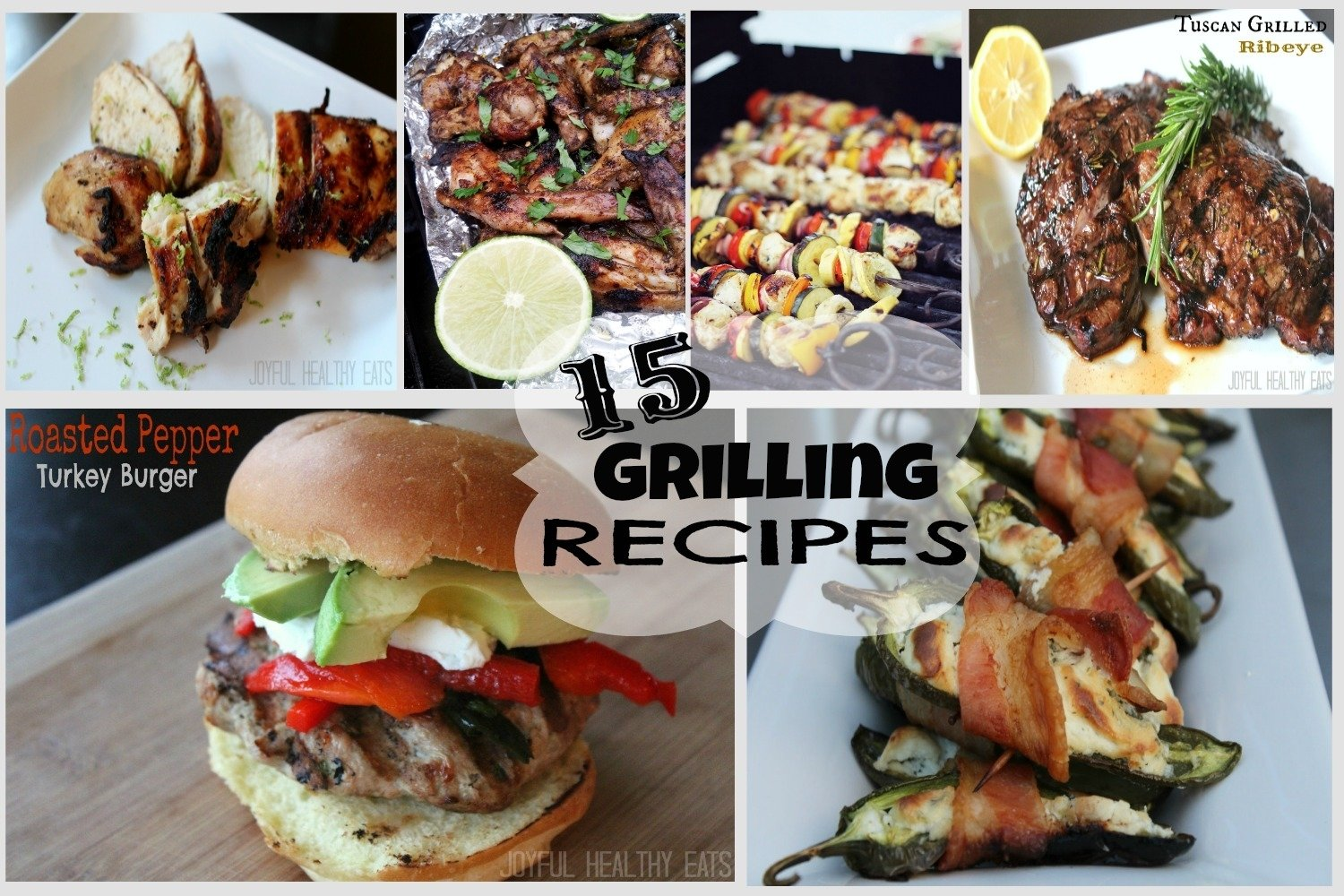 4th of july grilling recipes roundup | easy healthy recipes using