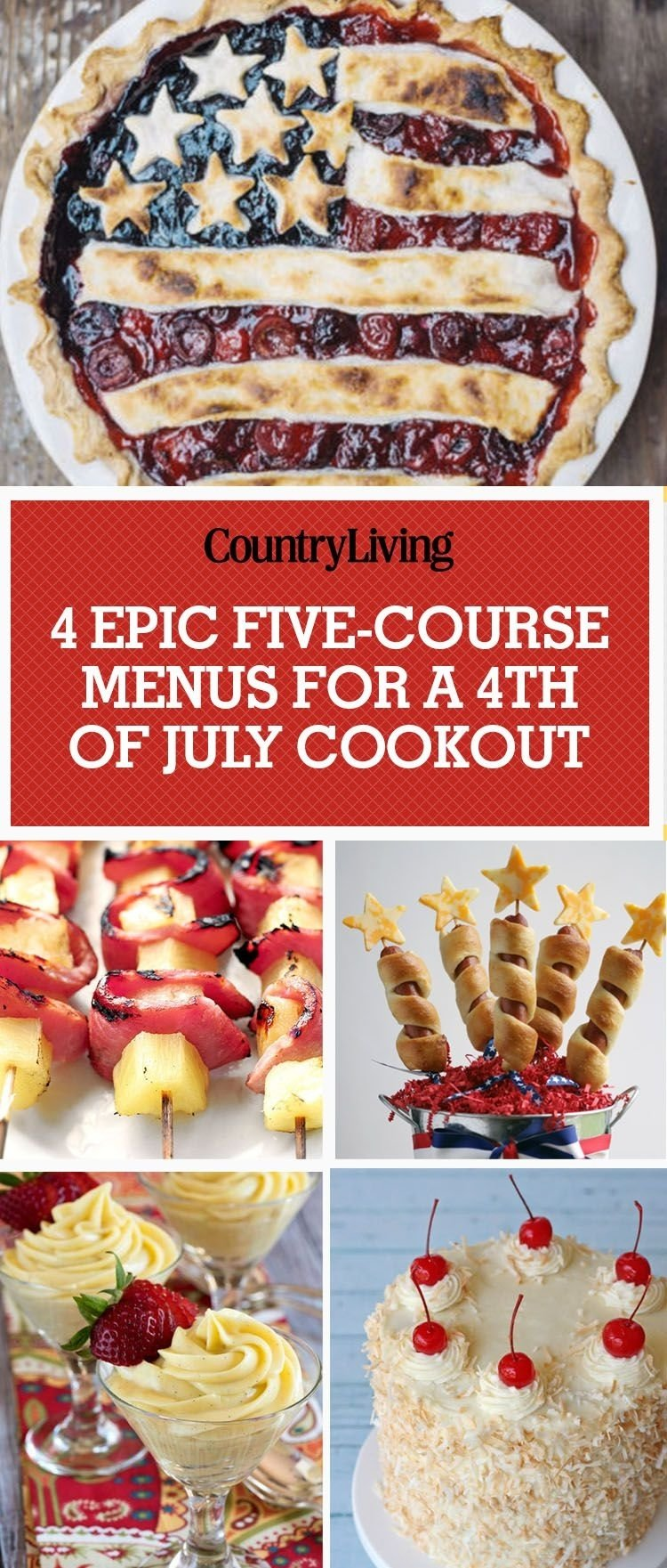 10 Ideal Fourth Of July Cookout Ideas 4th of july menu ideas 4 five course fourth of july dinner menus 2020
