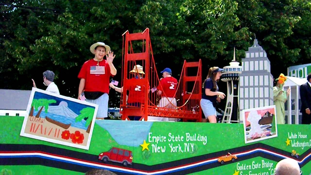 10 Spectacular Fourth Of July Float Ideas 4th of july parade float youtube 2 2021
