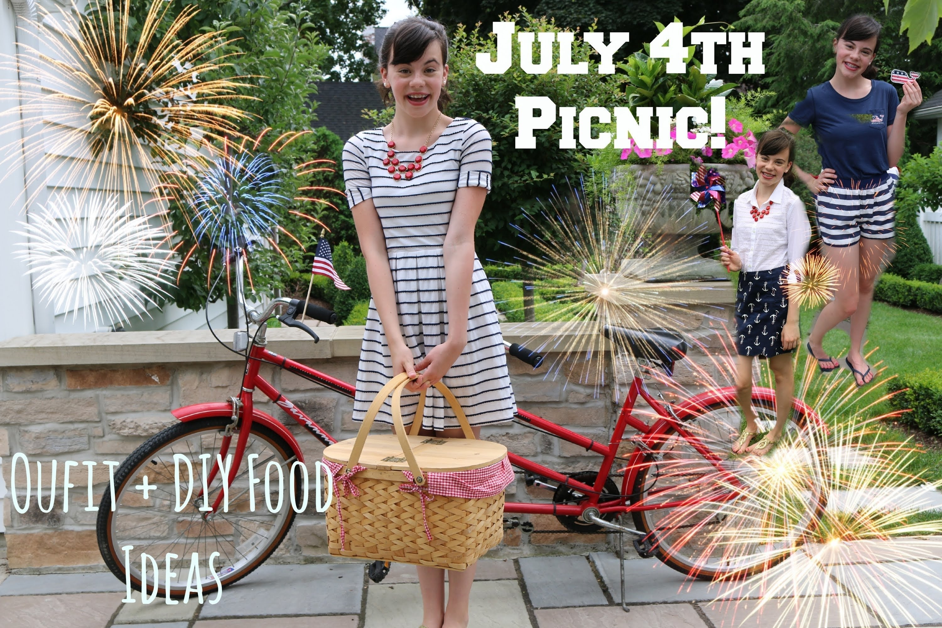 10 Perfect Fourth Of July Picnic Ideas 4th of july picnic outfits ideas diy food youtube 1 2021
