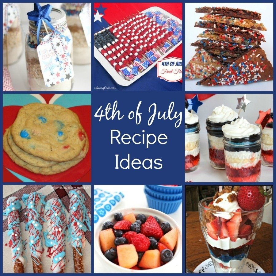 10 Most Recommended 4Th Of July Recipe Ideas 4th of july recipe ideas family fun journal 2020