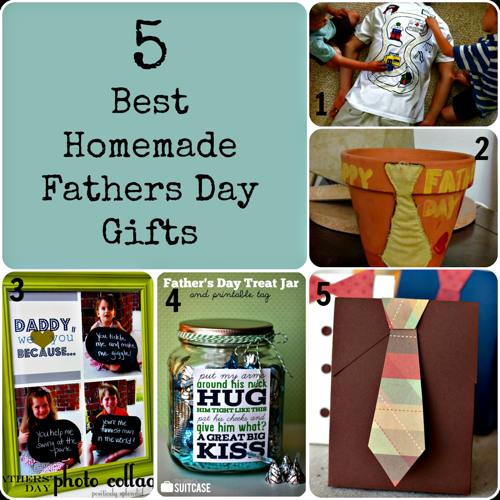 10 Beautiful Gift Ideas For Dads Birthday 5 Best Homemade Fathers Day Gifts