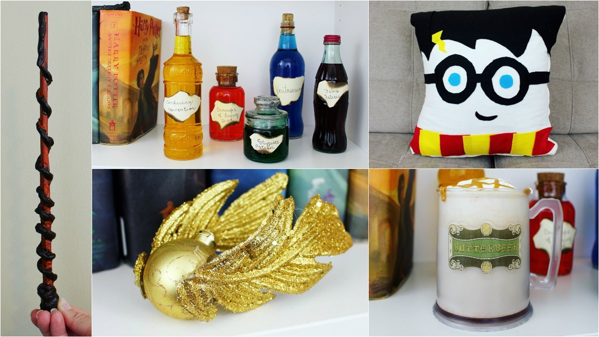 10 Attractive Cheap Arts And Crafts Ideas 5 cheap and easy harry potter diy crafts pinterest inspired youtube 2021