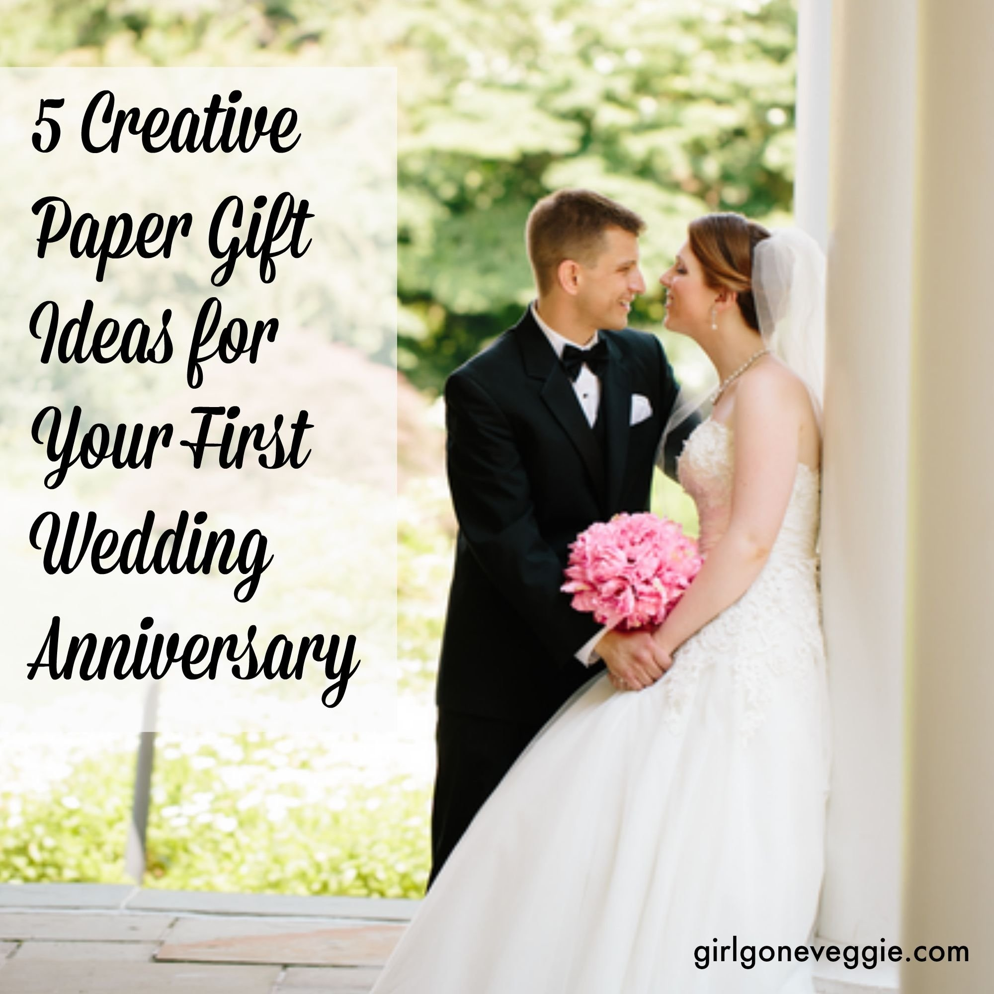 10 Amazing 1St Wedding Anniversary Gift Ideas For Him 5 creative paper gift ideas for your 1st wedding anniversary paper 2020