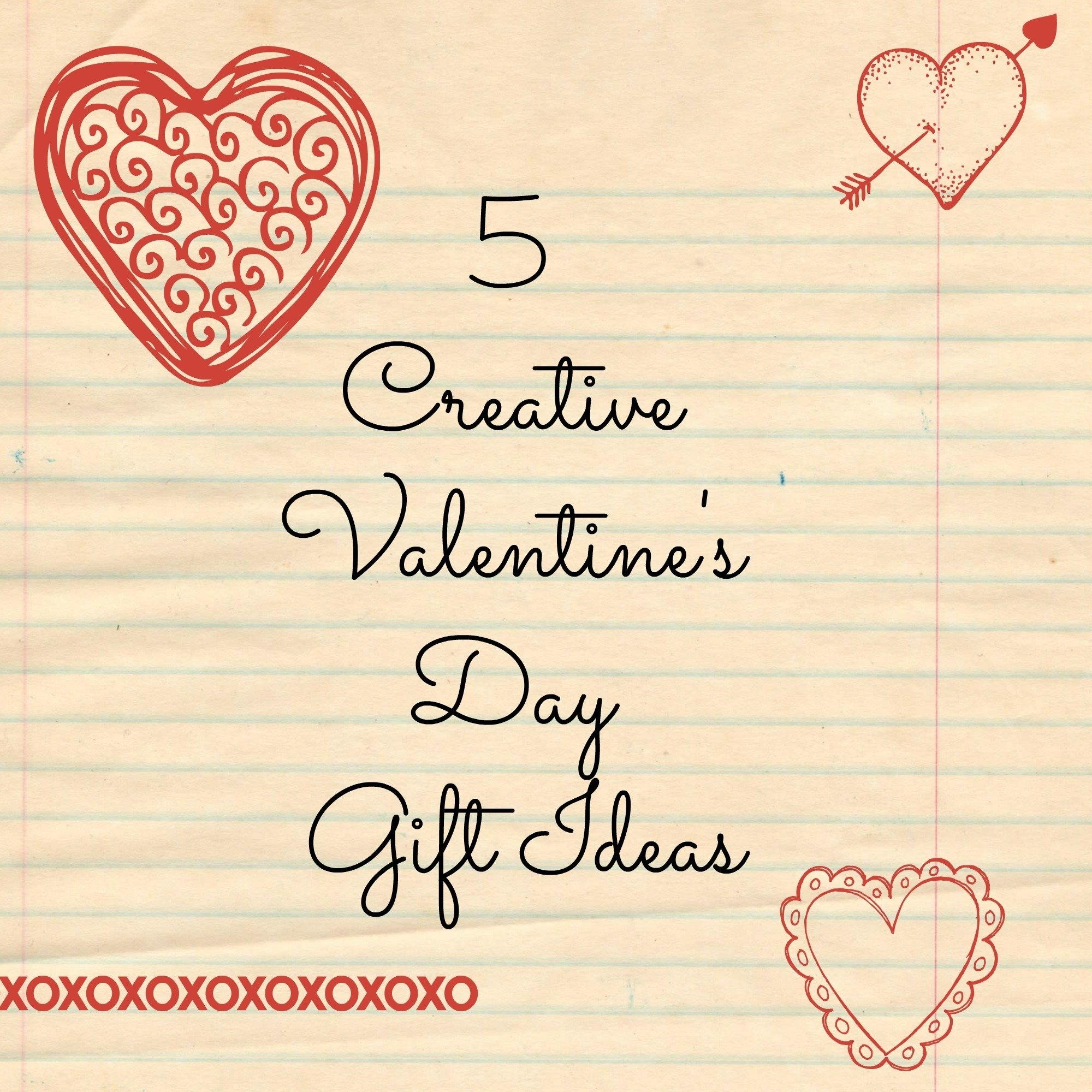 5 creative valentine's day gift ideas - thrill of the chases