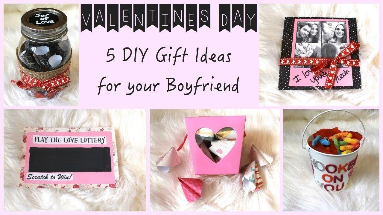 10 Stylish Homemade Birthday Ideas For Boyfriend 5 diy gift ideas for your boyfriend youtube 2021