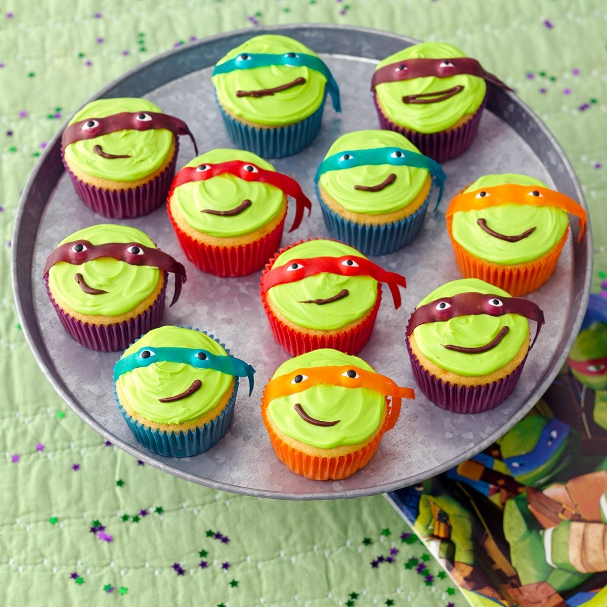 10 Attractive Teenage Mutant Ninja Turtles Cupcake Ideas 5 easy tmnt treats nickelodeon parents