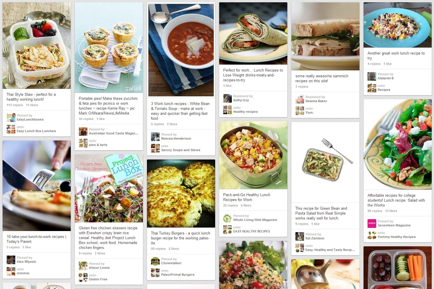 10 Most Recommended Ideas For Lunch At Work 5 foodies to follow on pinterest for work lunch ideas talentegg 2020