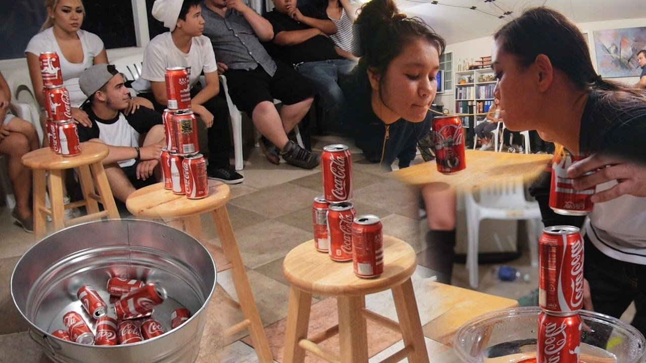 10 Fabulous Minute To Win It Game Ideas For Kids 5 fun party games with soda cans diy minute to win it youtube 2021