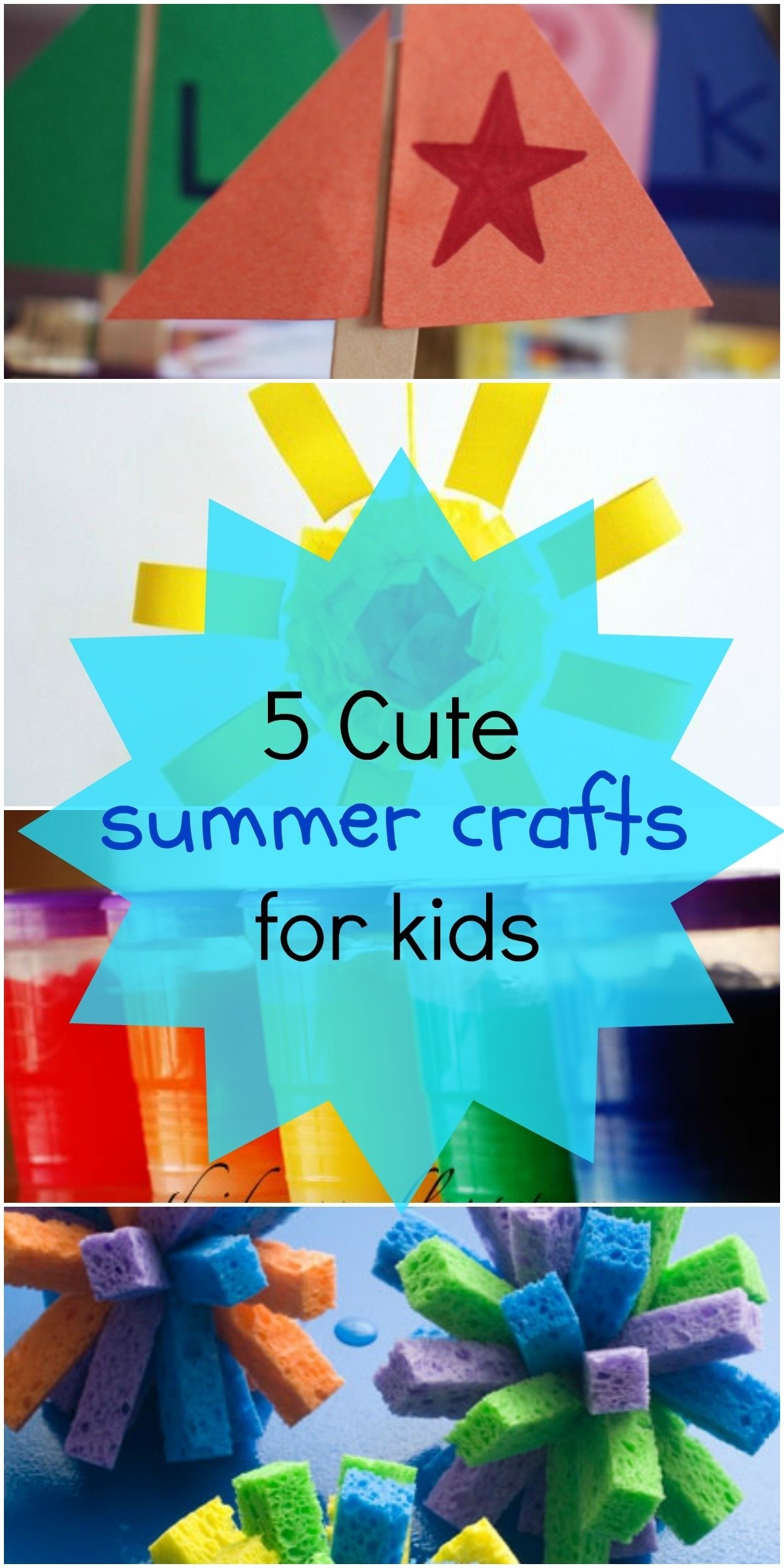10 Lovable Arts And Crafts Ideas For Summer 5 fun summer crafts for kids love these art project ideas 2