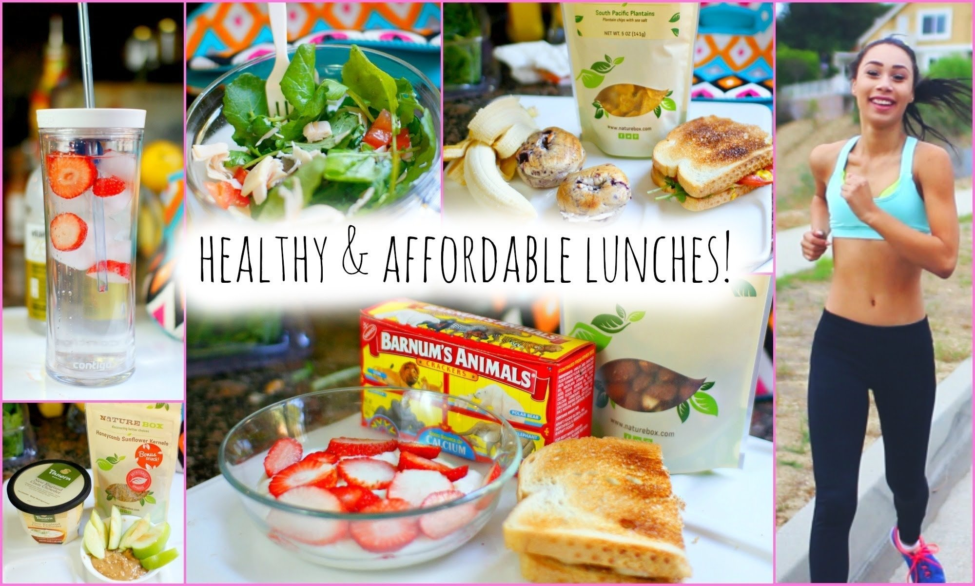 10 Attractive Healthy Breakfast And Lunch Ideas 5 healthy and affordable lunch ideas for school youtube 3 2020