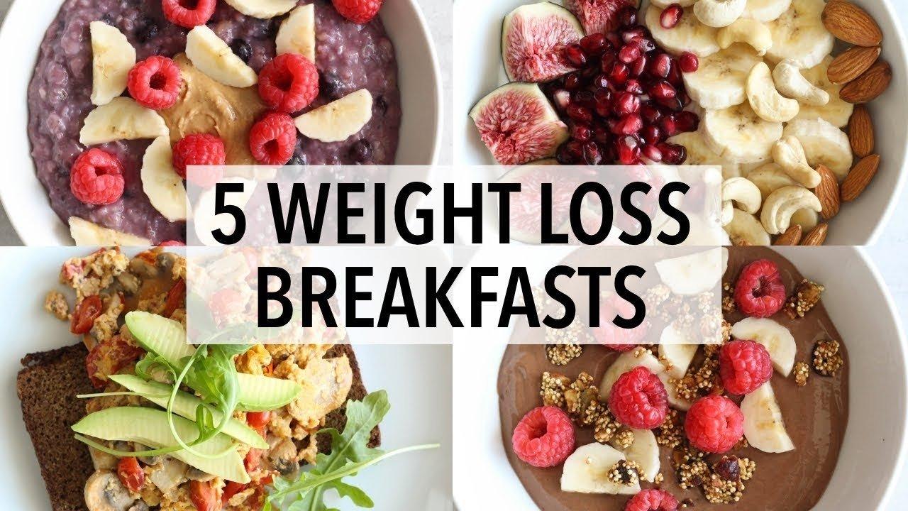 10 Wonderful Healthy Breakfast Ideas To Lose Weight 5 healthy breakfast ideas for weight loss youtube 4