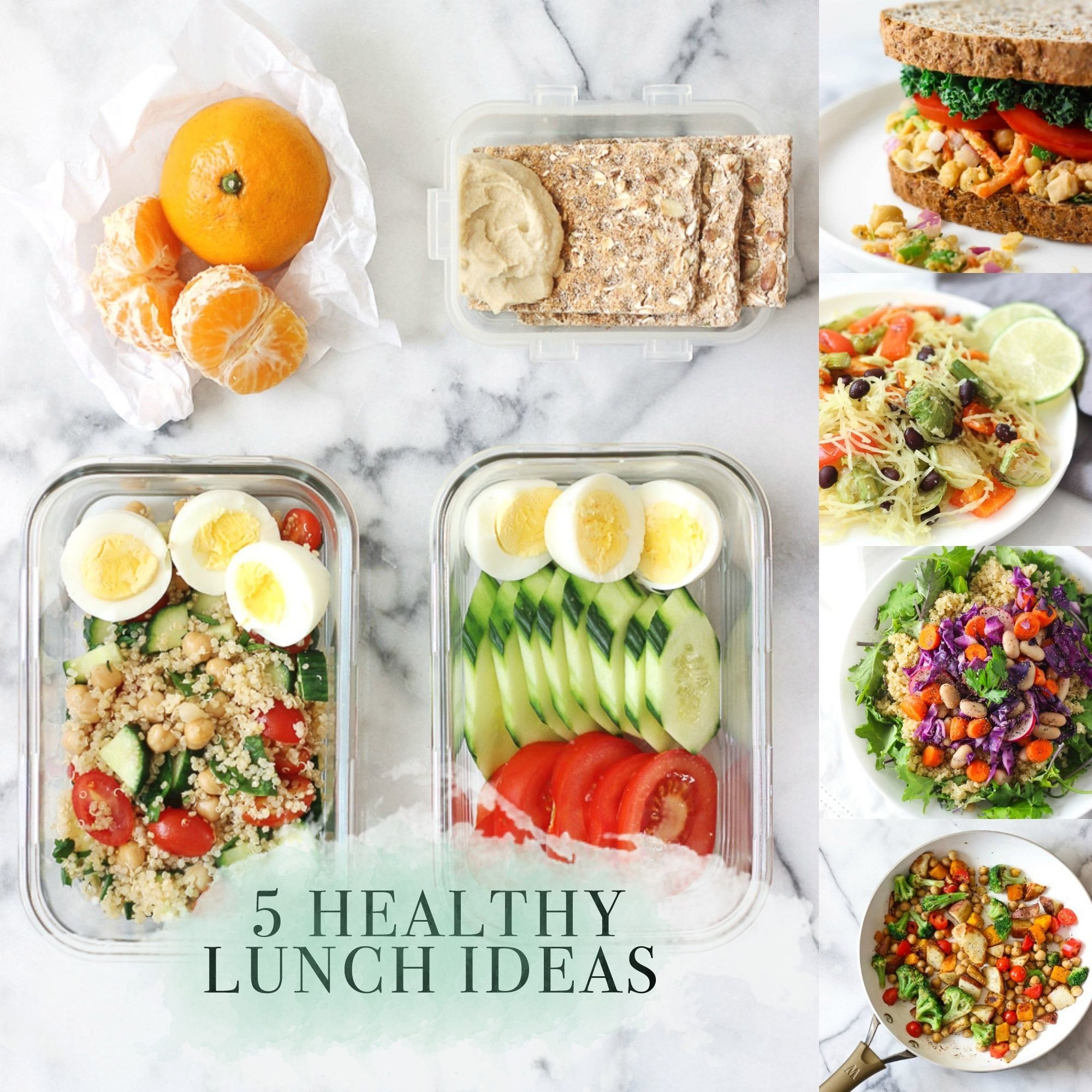 10 Cute Good Lunch Ideas For Work 5 healthy lunch recipes 2020