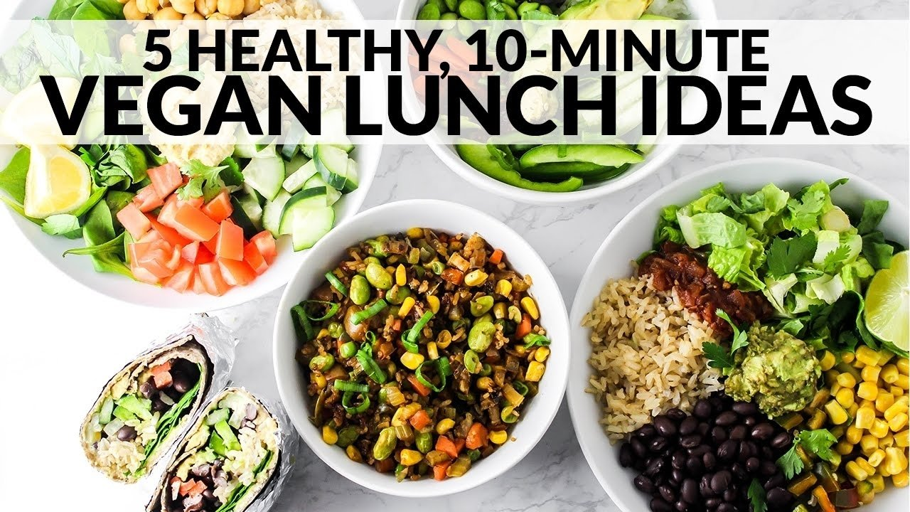 10 Famous Gluten Free Lunch Ideas For Adults 5 healthy vegan lunch ideas easy gluten free 10 minute recipes 2020