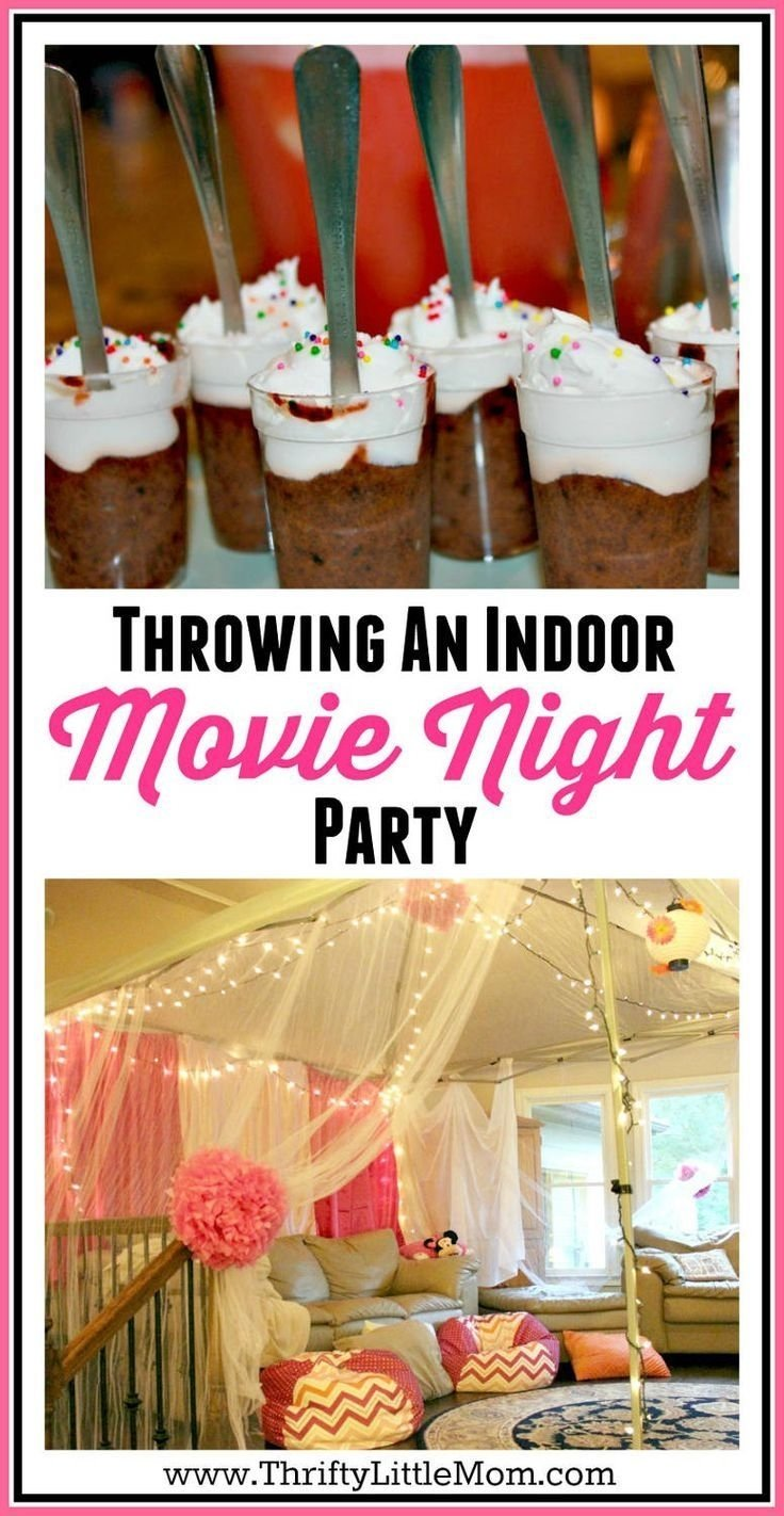 10 Wonderful Fun 13Th Birthday Party Ideas 5 ideas for an epic indoor movie party at your house indoor movie 4