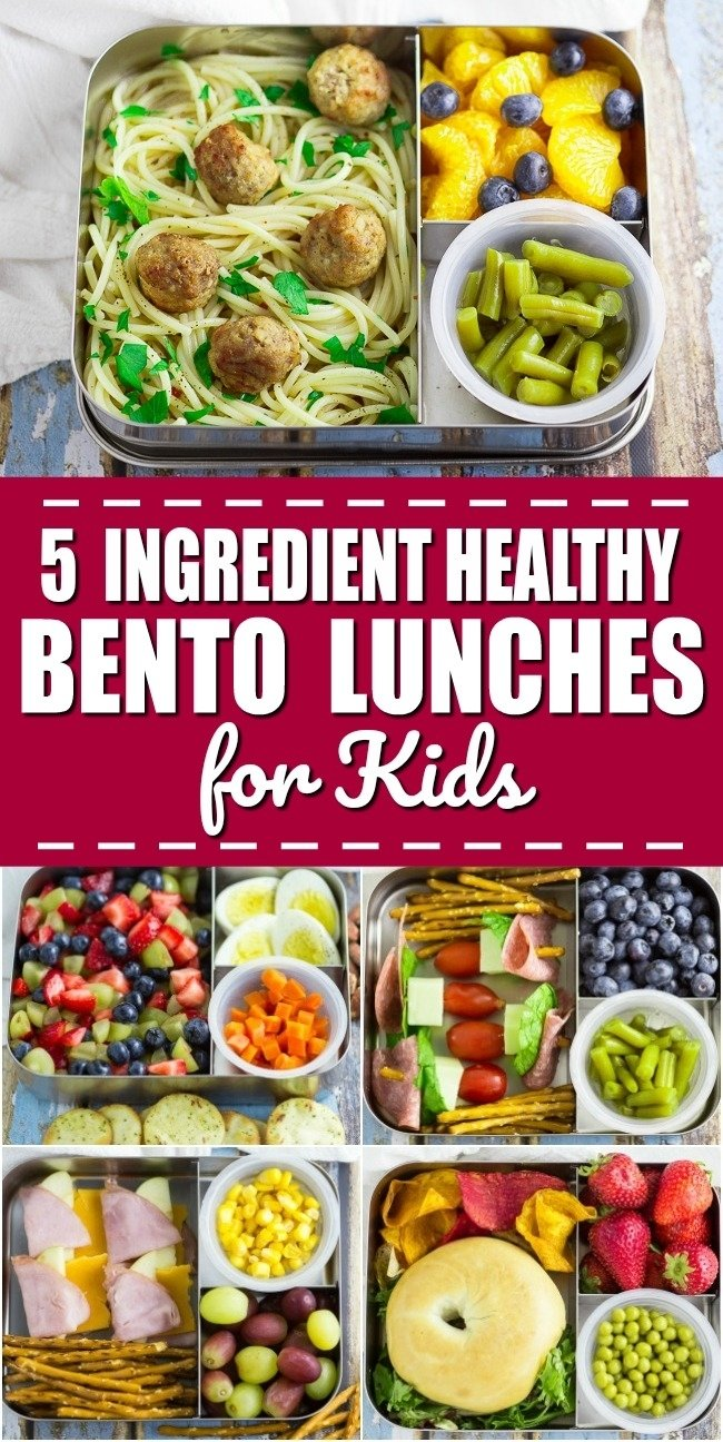 10 Elegant Healthy Bento Box Lunch Ideas 5 ingredient bento box lunches for kids for a week the gracious wife 2021