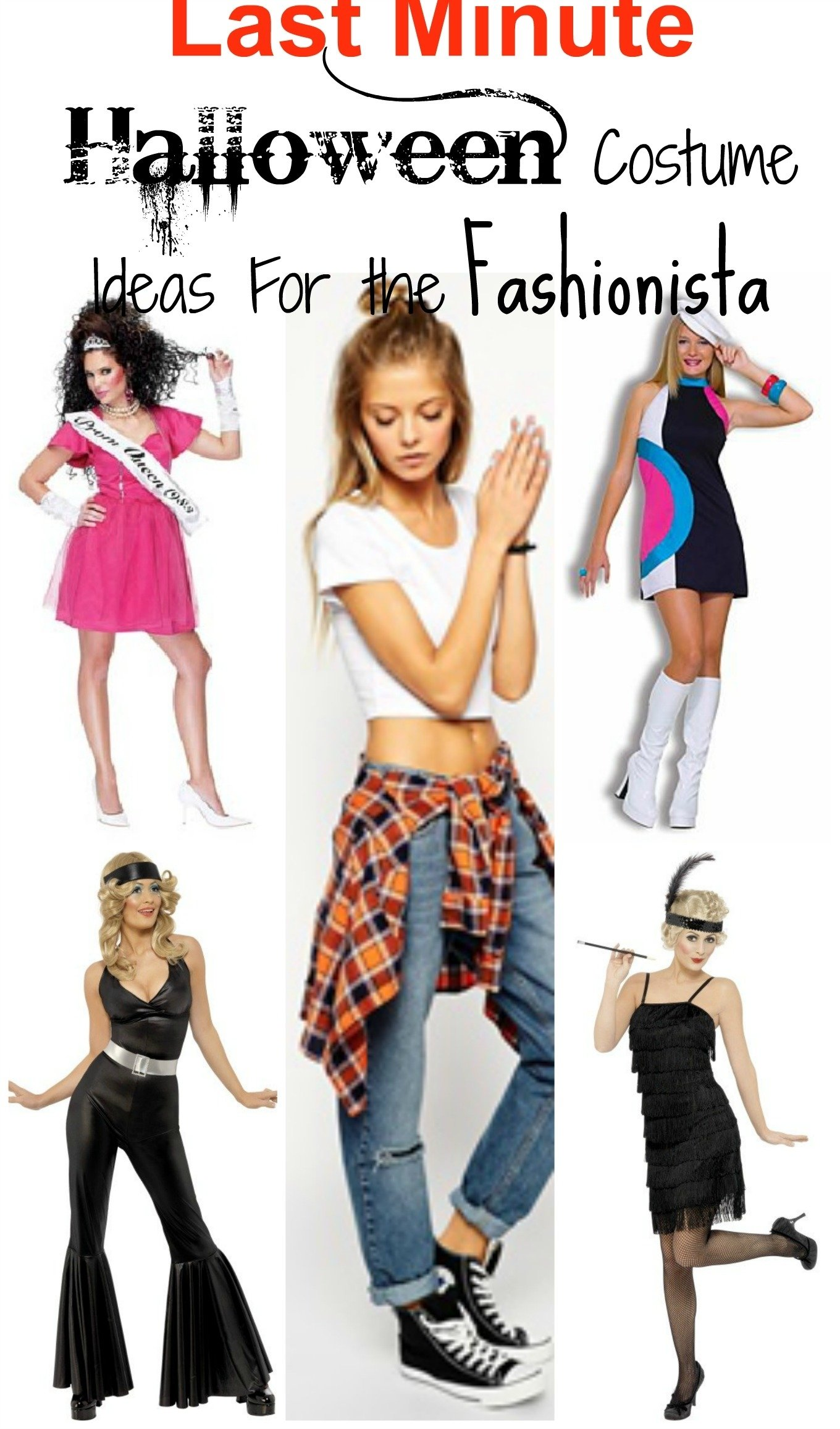 10 Attractive Last Minute Easy Costume Ideas 5 last minute halloween costume ideas for the fashionista 1 2020