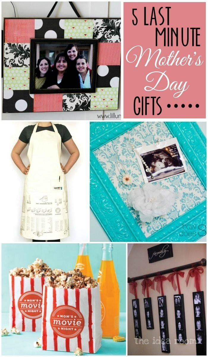 5 last minute mother's day gifts on { lilluna }! cute and