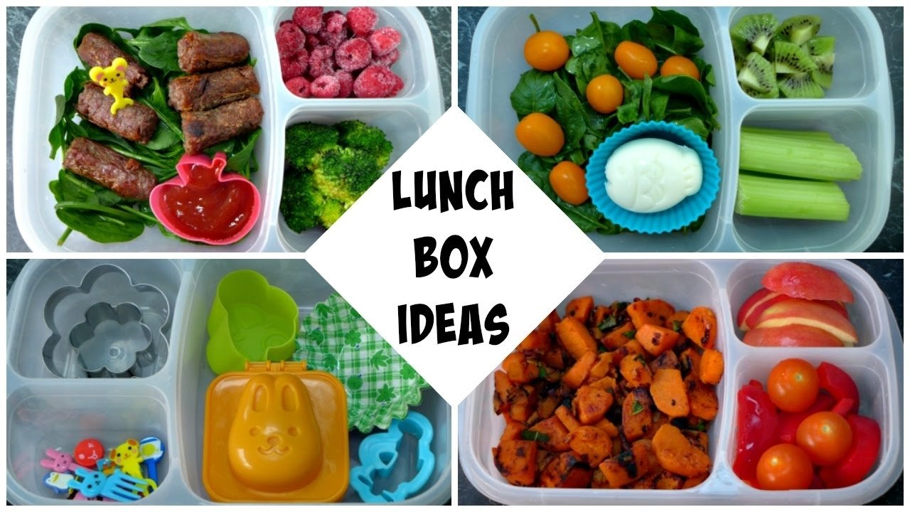 5 lunch box ideas - sandwich free, gluten free & paleo friendly