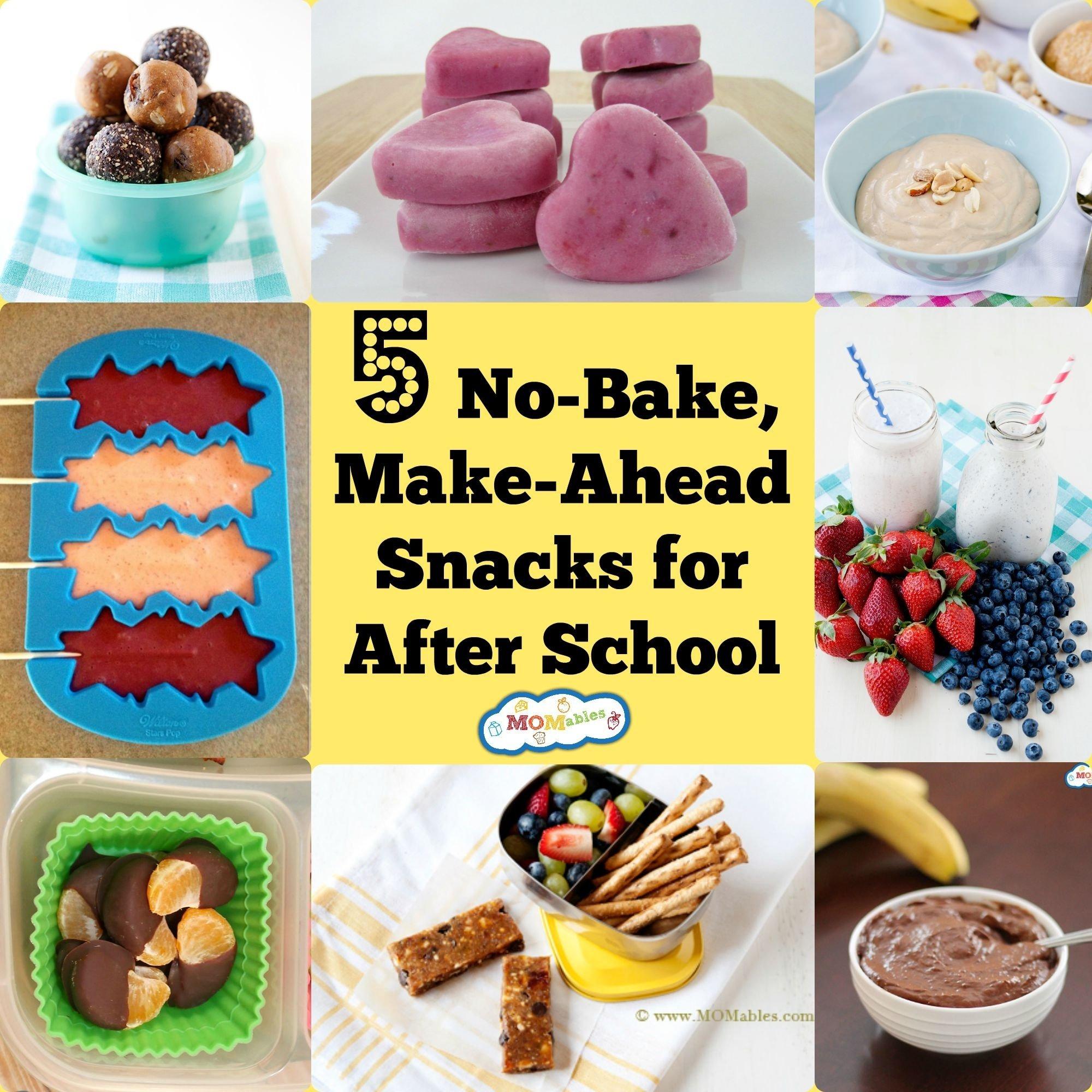 10 Wonderful Bake Sale Ideas For Kids 5 no bake make ahead after school snacks momables 2020