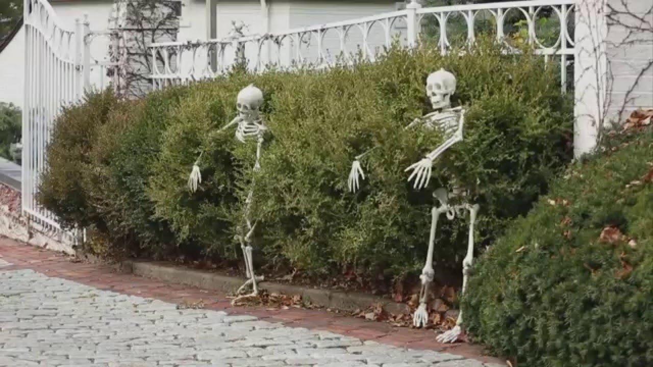 10 Nice Halloween Decoration Ideas For Yard 5 outdoor halloween decorations ideas youtube 2020
