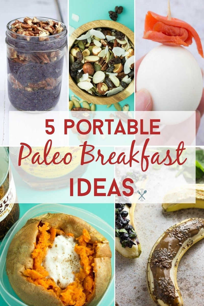 5 portable paleo breakfasts