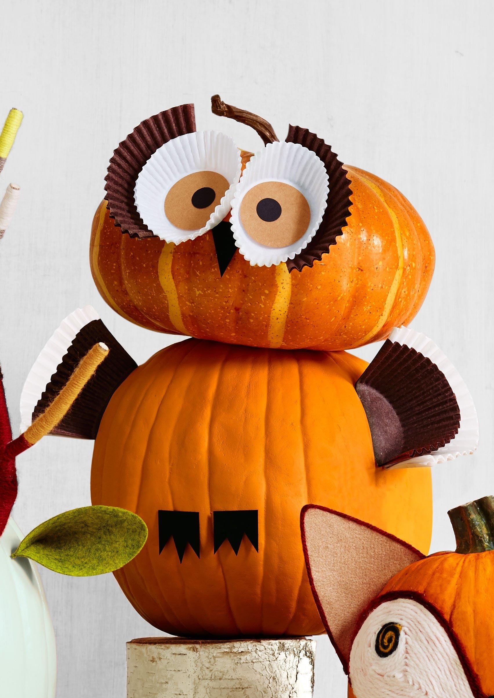 10 Fashionable Creative Pumpkin Ideas No Carving 5 pumpkin decorating ideas for toddlers parenting loversiq 1 2020