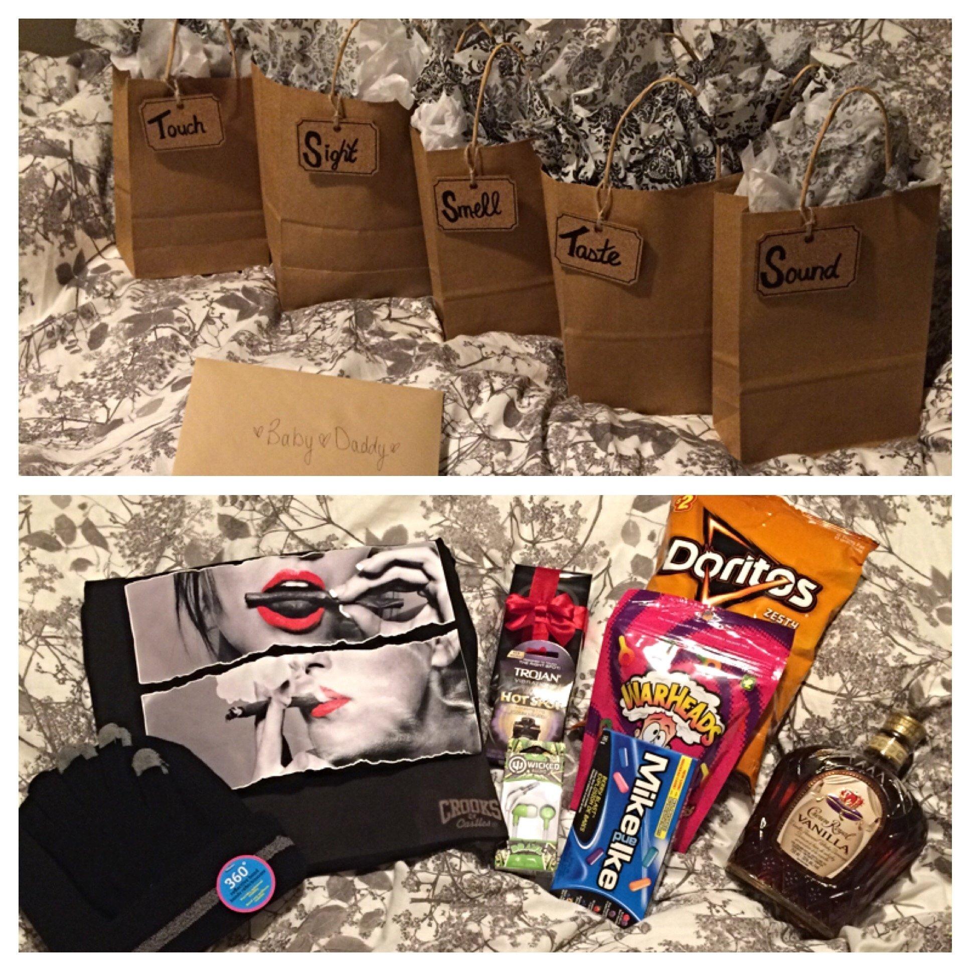 10 Most Popular Gift Ideas For My Boyfriend 5 senses birthday gift for my boyfriend xox gift ideas pinterest 2020