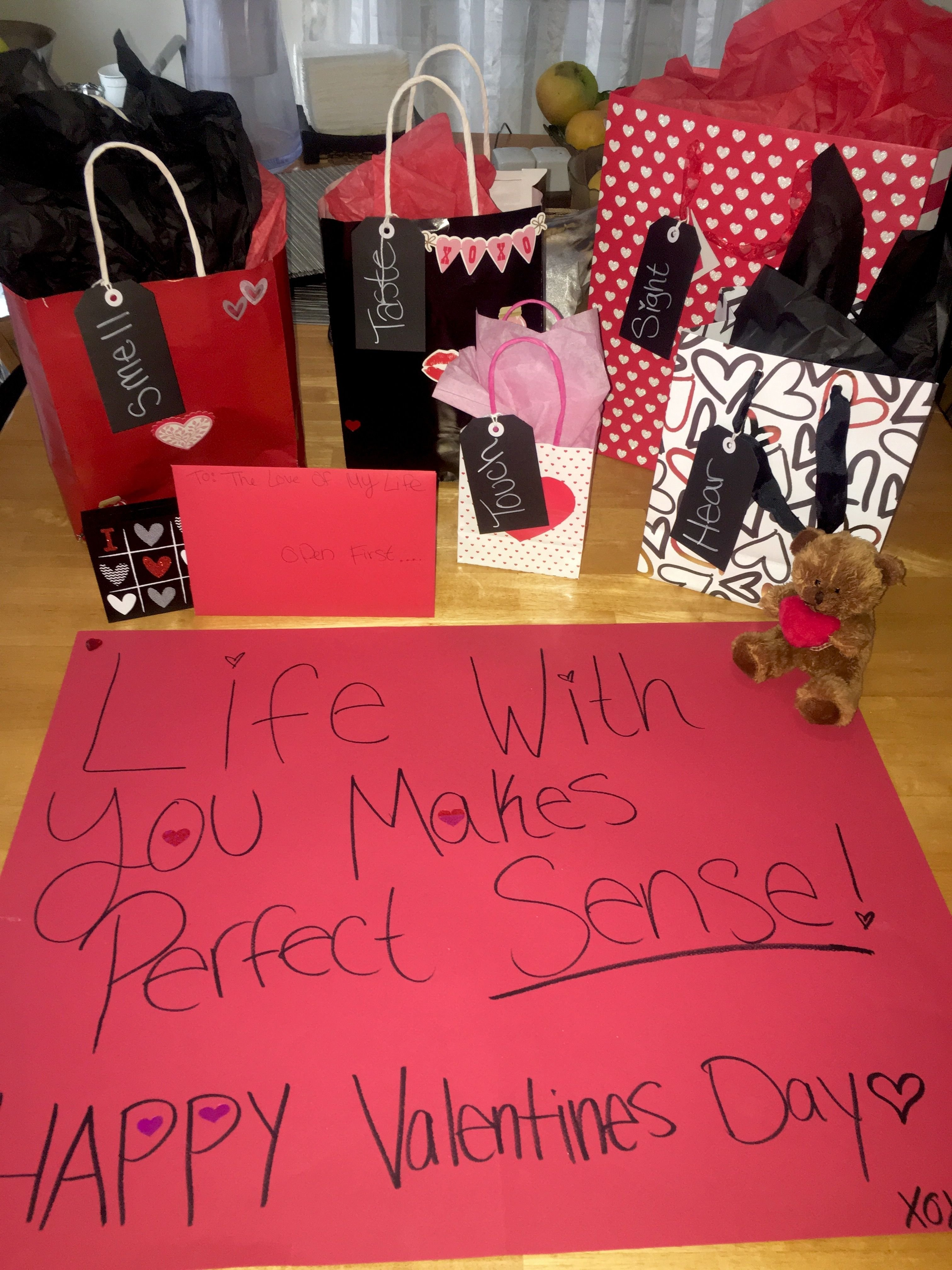 10 Fashionable Valentines Day Ideas For Boyfriend 5 senses gift for him happy valentines day babee299a5 diys 2021