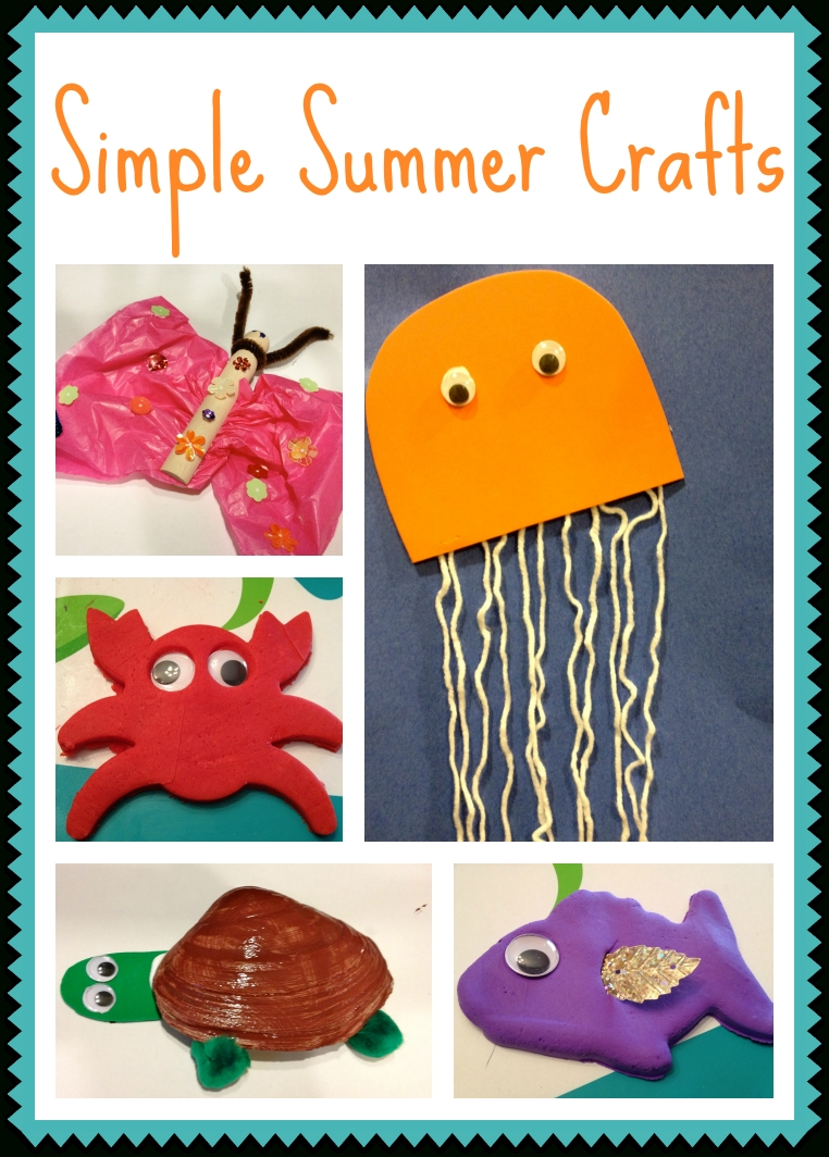 10 Lovable Arts And Crafts Ideas For Summer 5 simple summer crafts for kids summer crafts craft and summer
