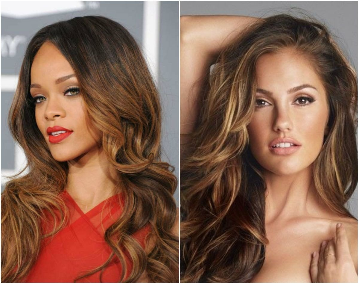 10 Great Hair Color Ideas For Dark Skin Tones 5 striking dark hair color ideas for thanksgiving day 2013 10