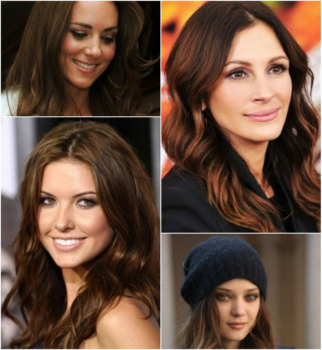 10 Pretty Chestnut Brown Hair Color Ideas 5 striking dark hair color ideas for thanksgiving day 2013 6 2020