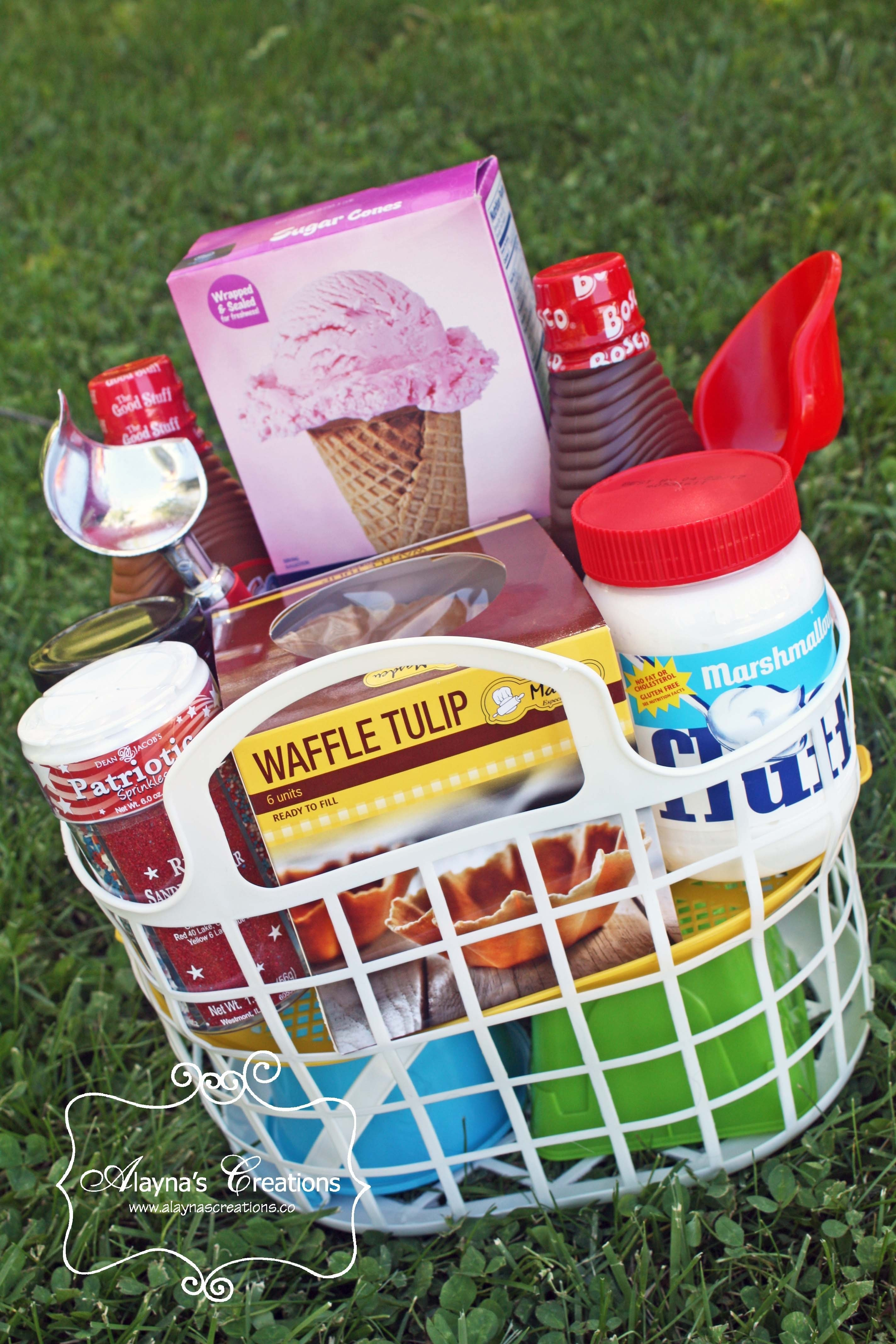 10 Trendy Ice Cream Gift Basket Ideas 5 summer themed gift basket ideas for under 25 diy home decor and 2020