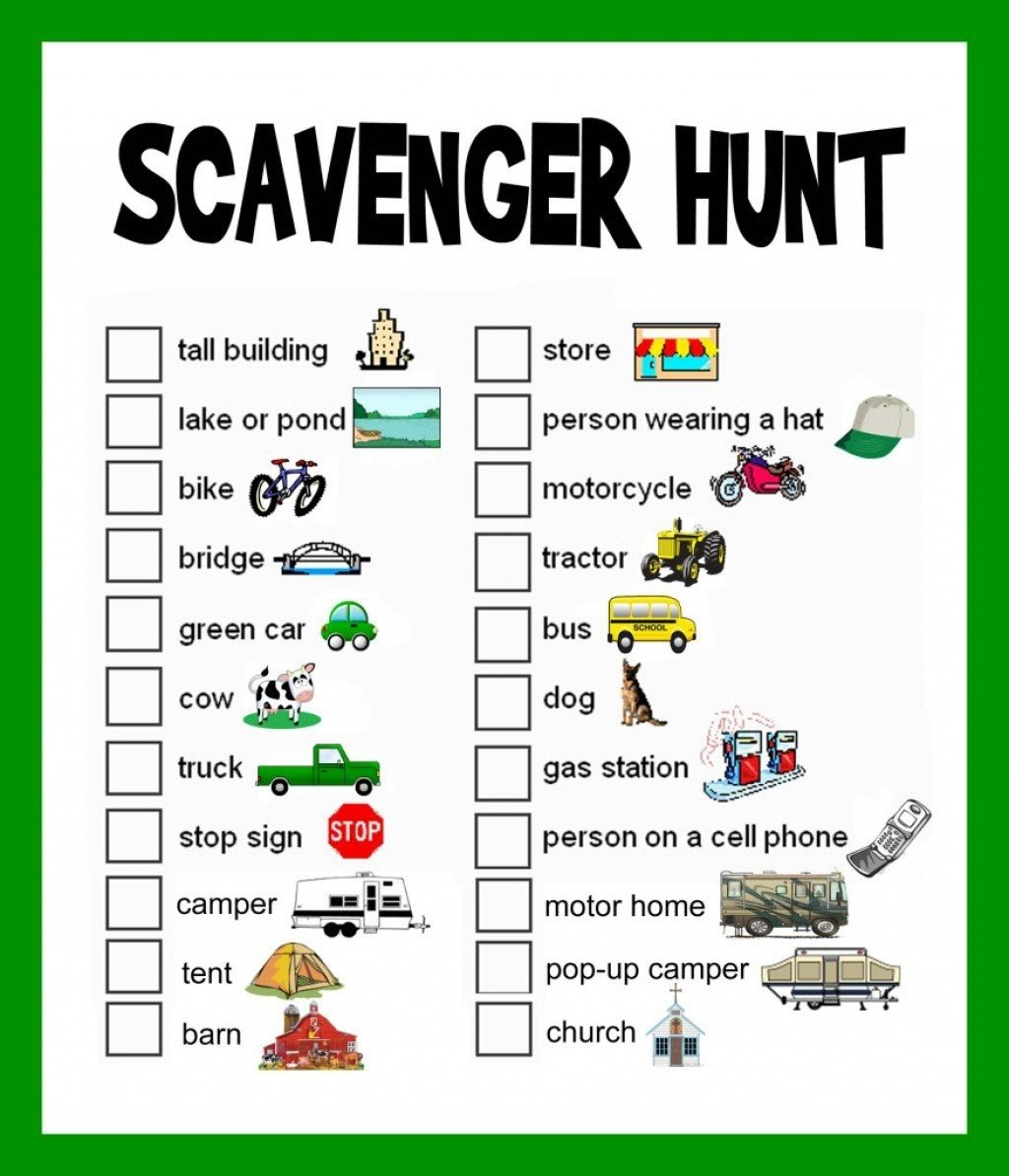 10 Amazing Ideas For A Scavenger Hunt 5 super fun scavenger hunt ideas road trips vacation and road trippin 2 2021