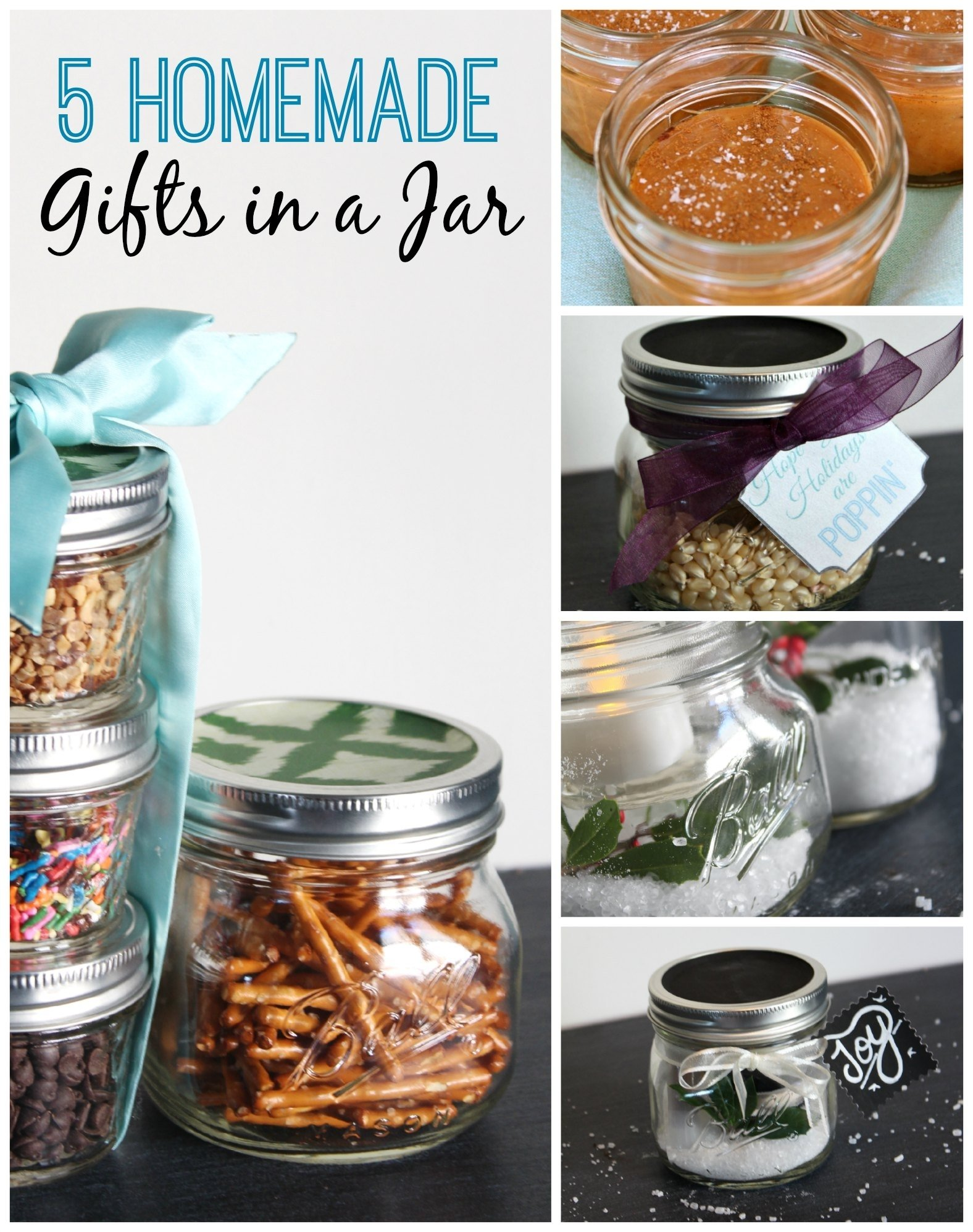 10 Unique Gift In A Jar Ideas