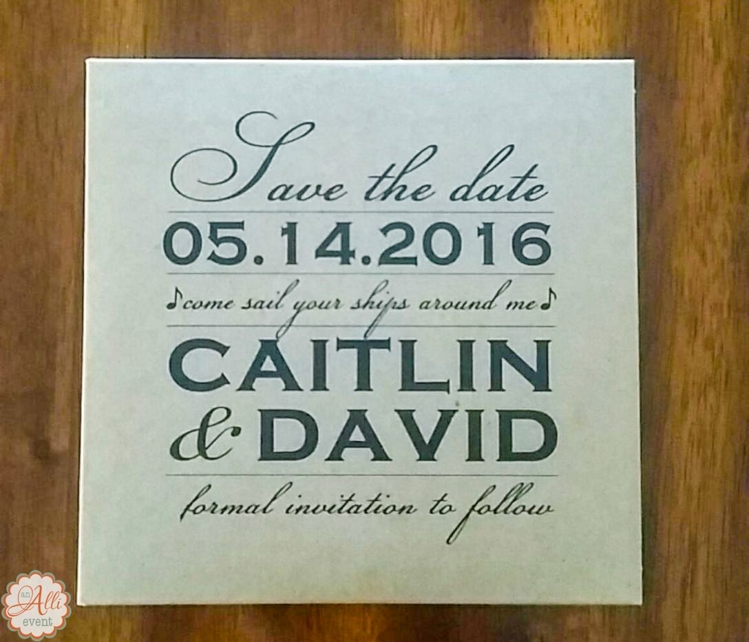 10 Trendy Unique Save The Date Ideas 5 unique save the date ideas you will love an alli event 1 2020