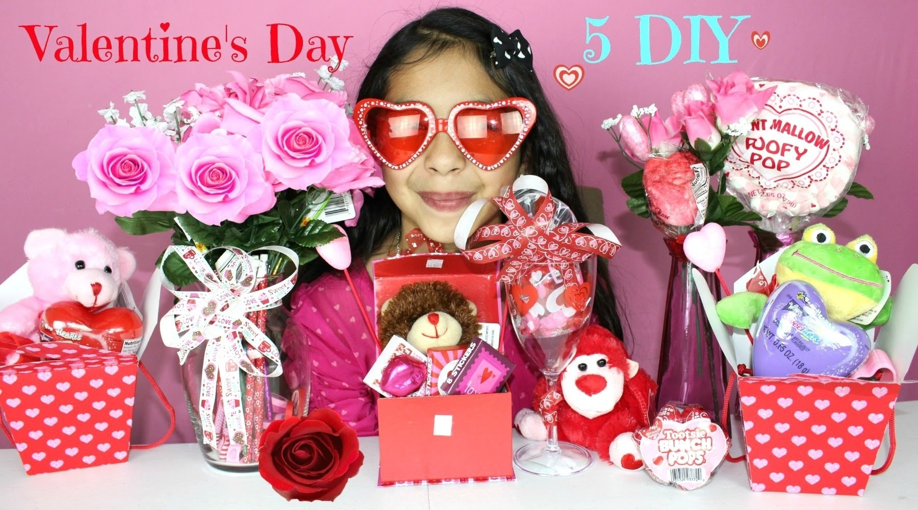 10 Great Valentines Gift Ideas For Mom 5 valentines day diy gift ideas youtube 2021