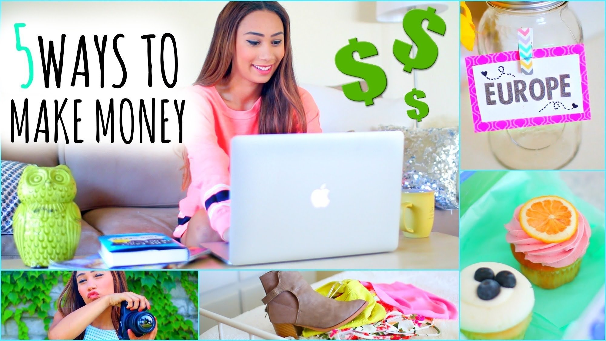 10 Stylish Money Making Ideas For Teenagers 5 ways to make money this summer e298bc on the internet youtube 2 2020