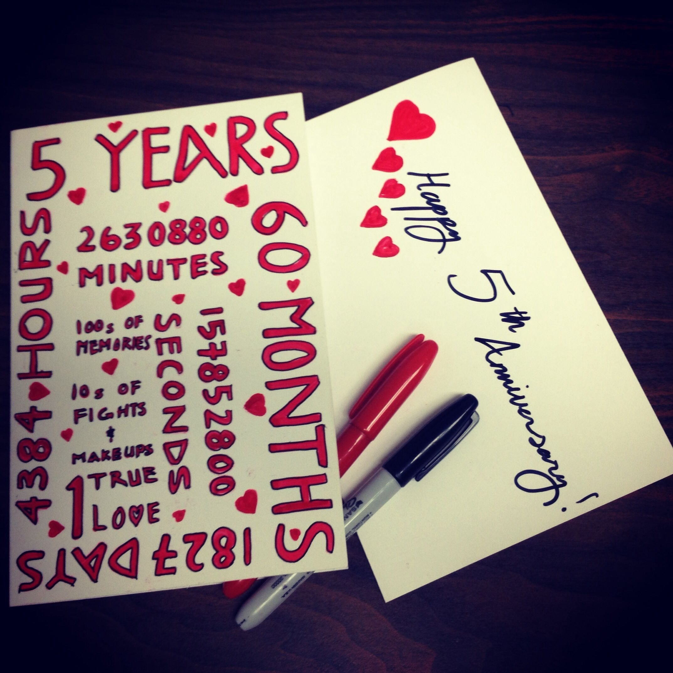 10 Lovable Anniversary Card Ideas For Him 5 year anniversary cardcardlikeyoucare cardlikeyoucare 2020