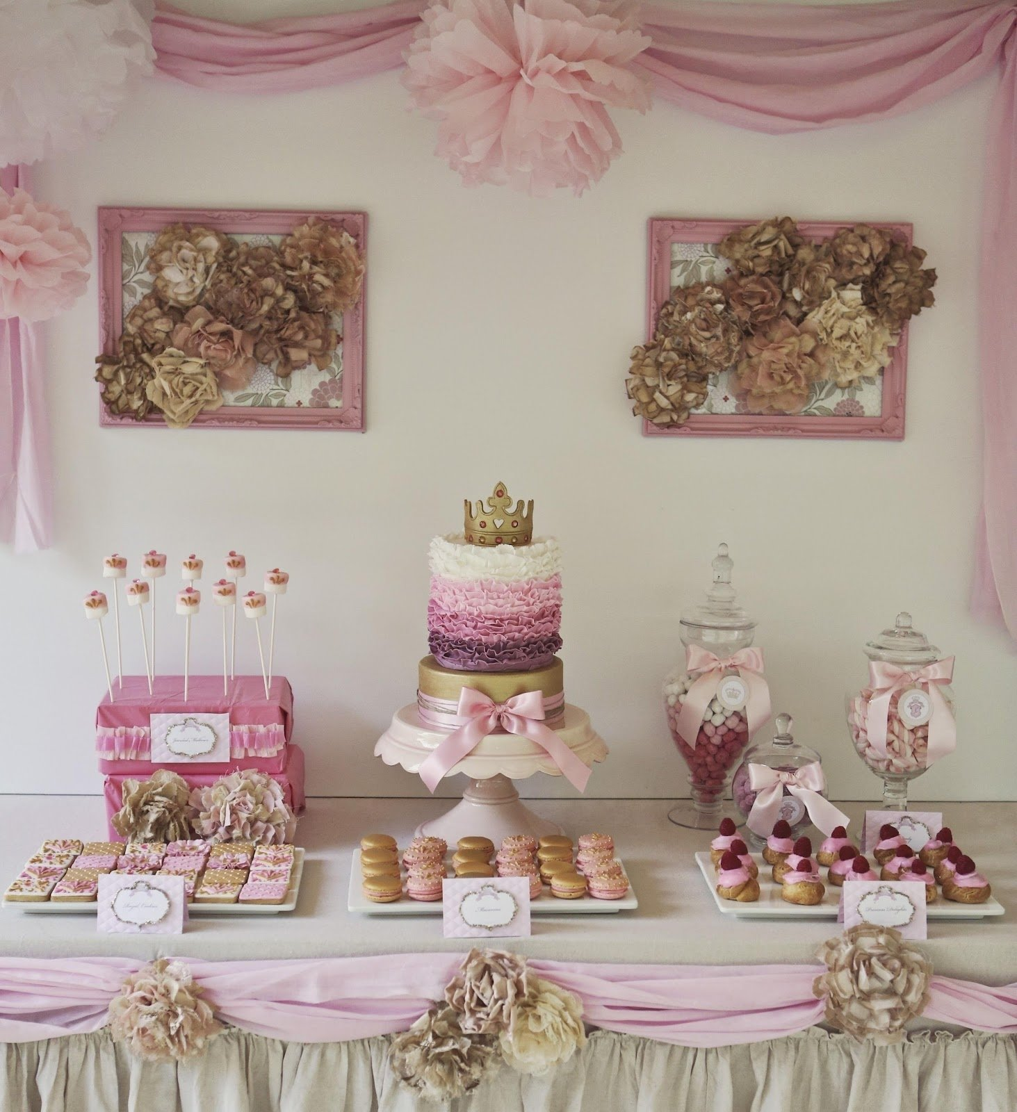 10 Stylish 2 Year Old Birthday Party Ideas Girl 5 year old birthday girl party ideas chic princess 8th 2020