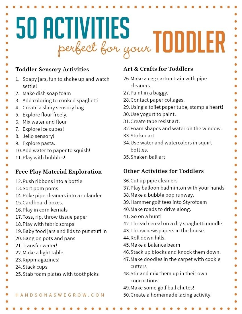 10 Lovely Lesson Plan Ideas For Preschoolers 50 activities for toddlers from hands on as we grow 1 2021