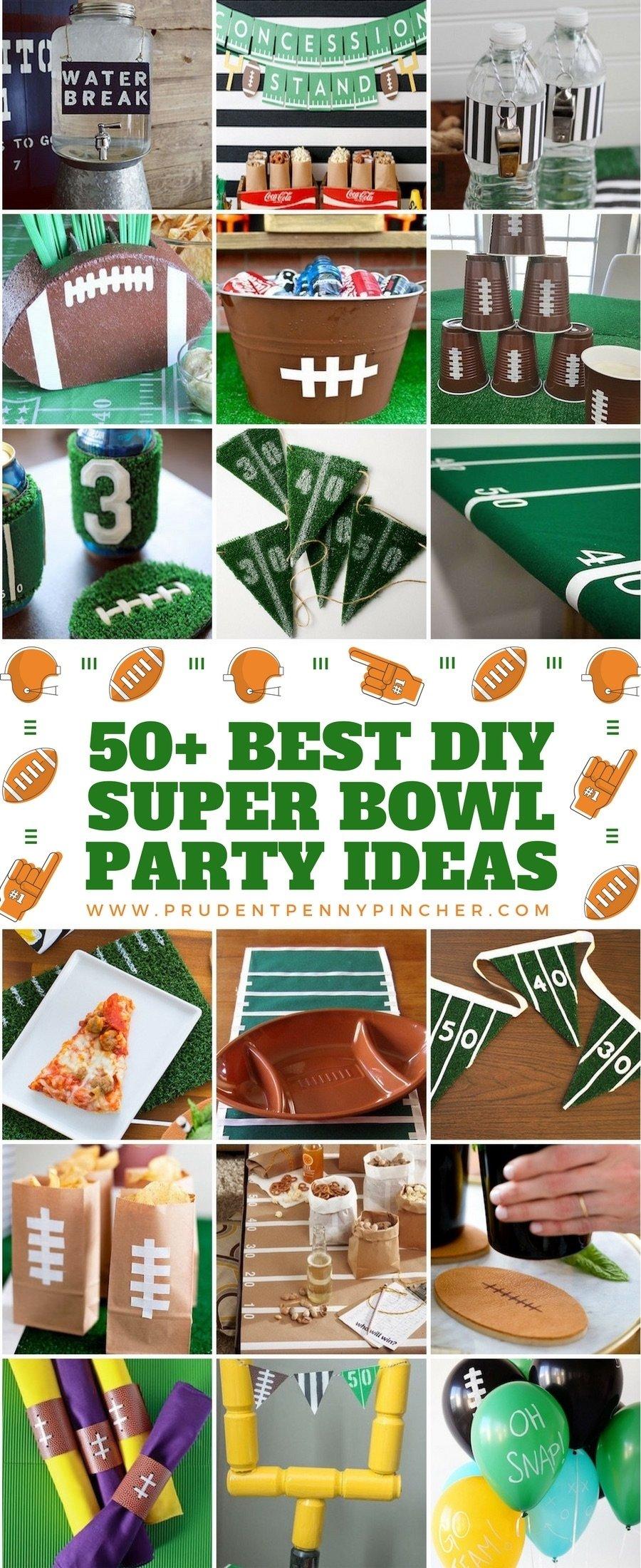 10 Gorgeous Super Bowl Party Ideas Pinterest 50 best diy super bowl party ideas prudent penny pincher 2020
