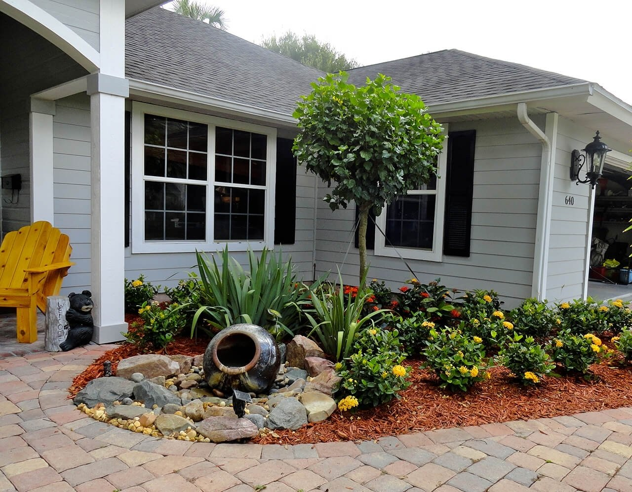 10 Unique Landscaping Ideas For Front Yard 50 best front yard landscaping ideas and garden designs for 2018 9 2021