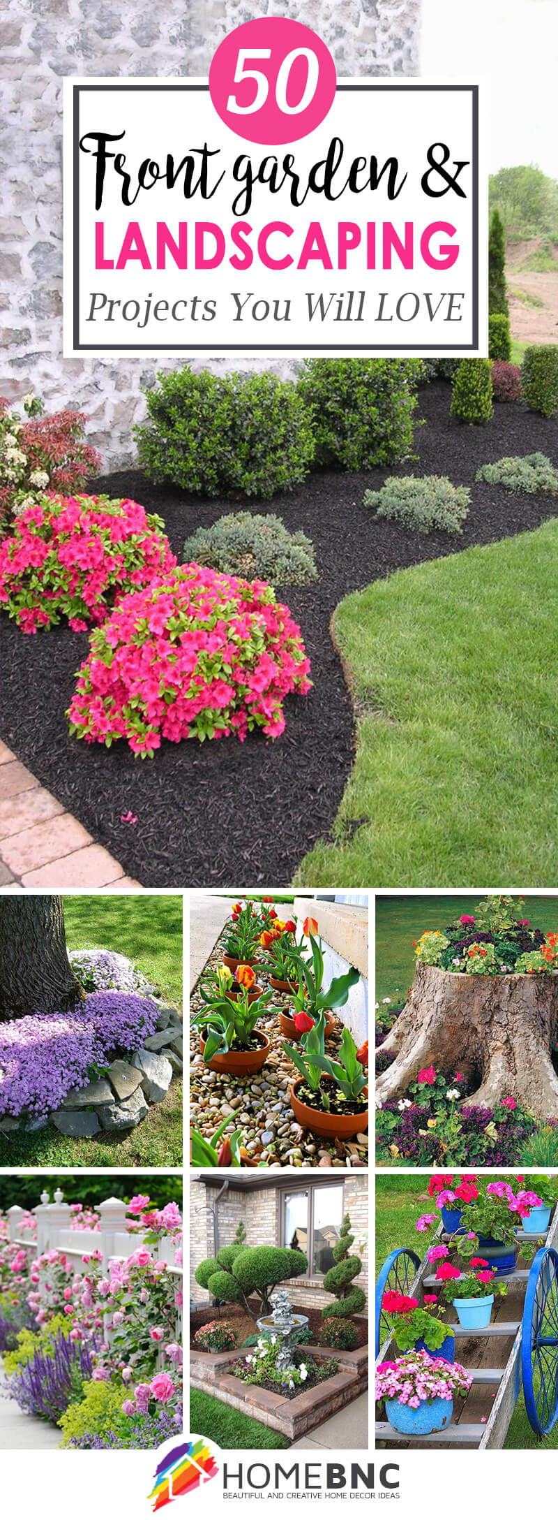 10 Lovely Flower Beds Ideas Front Yard 50 best front yard landscaping ideas and garden designs for 2019 1