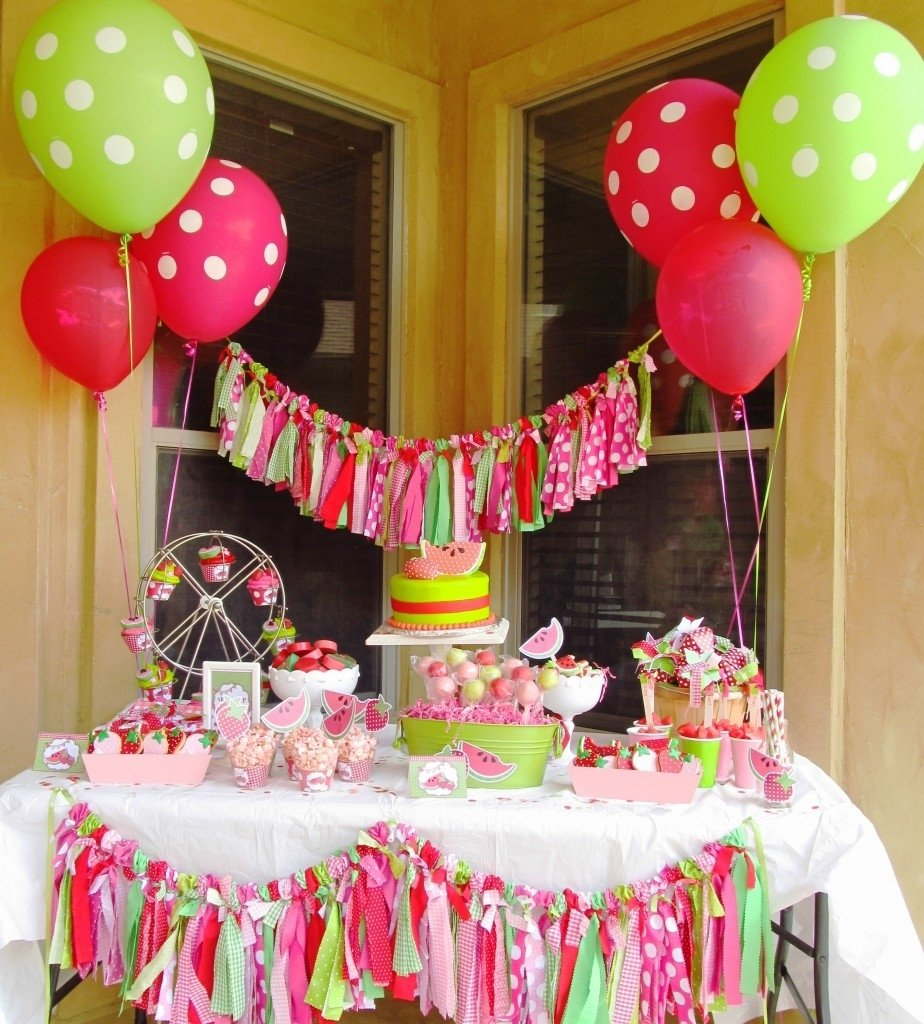 10 Stunning Decorating Ideas For A Birthday Party 50 birthday party themes for girls i heart nap time 11
