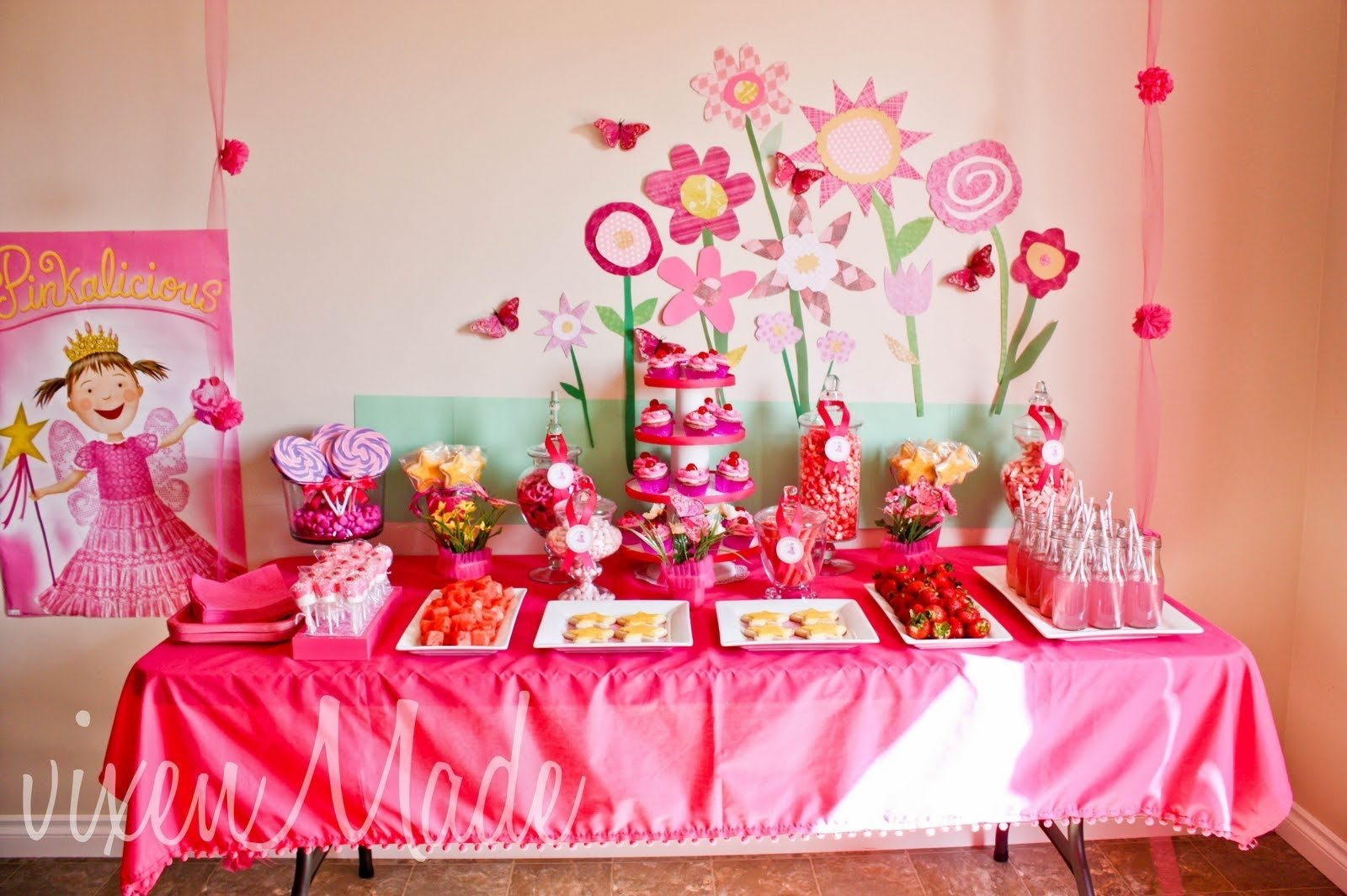 10 Most Popular Girl Themed Birthday Party Ideas