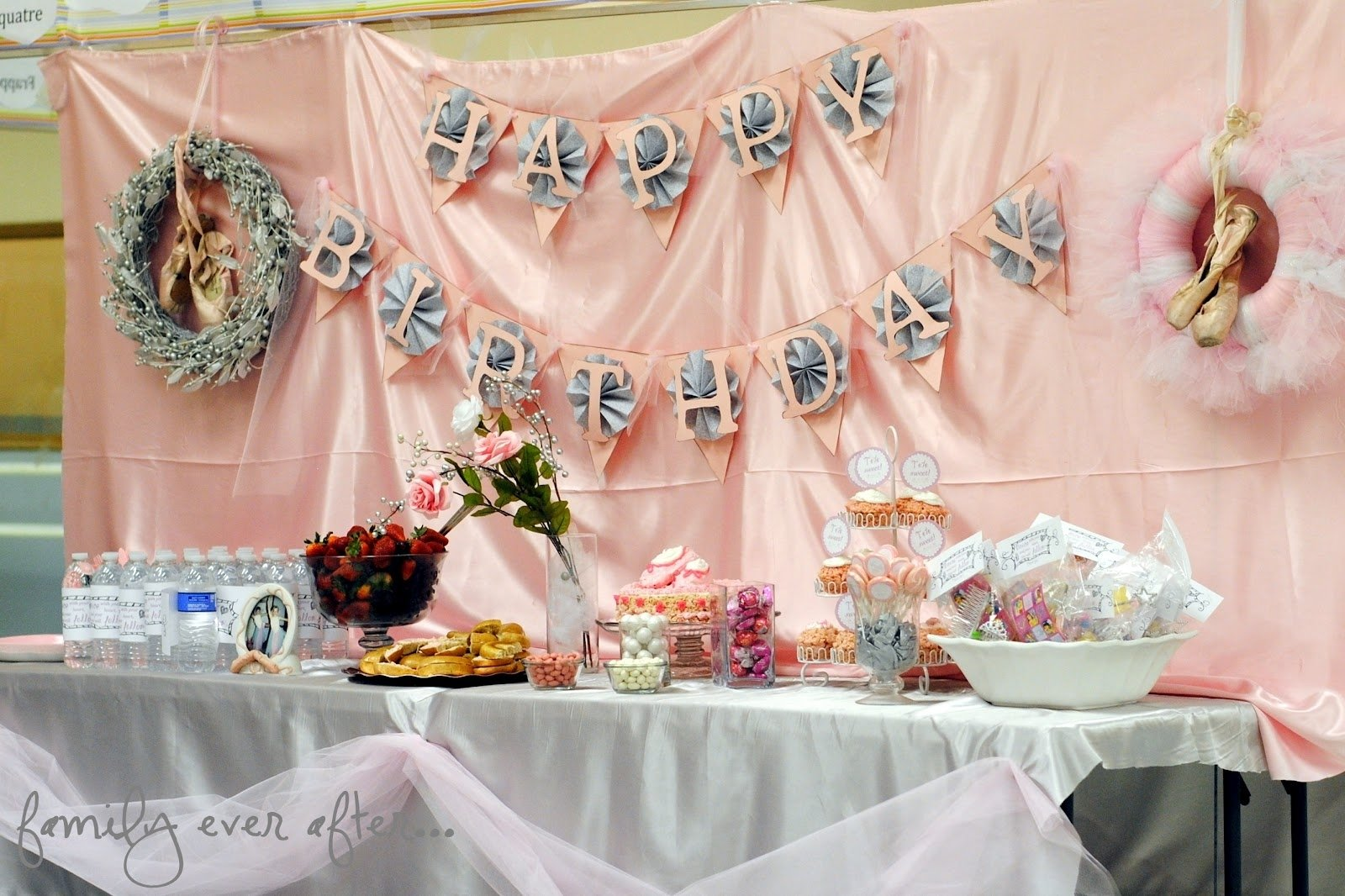 10 Beautiful Birthday Ideas For Teenage Girls 50 birthday party themes for girls i heart nap time 42