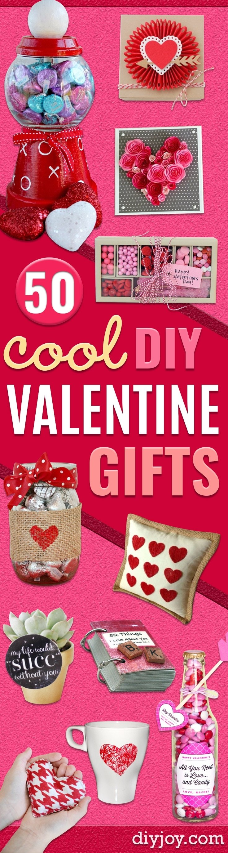 10 Great Valentines Gift Ideas For Mom 50 cool and easy diy valentines day gifts 2021
