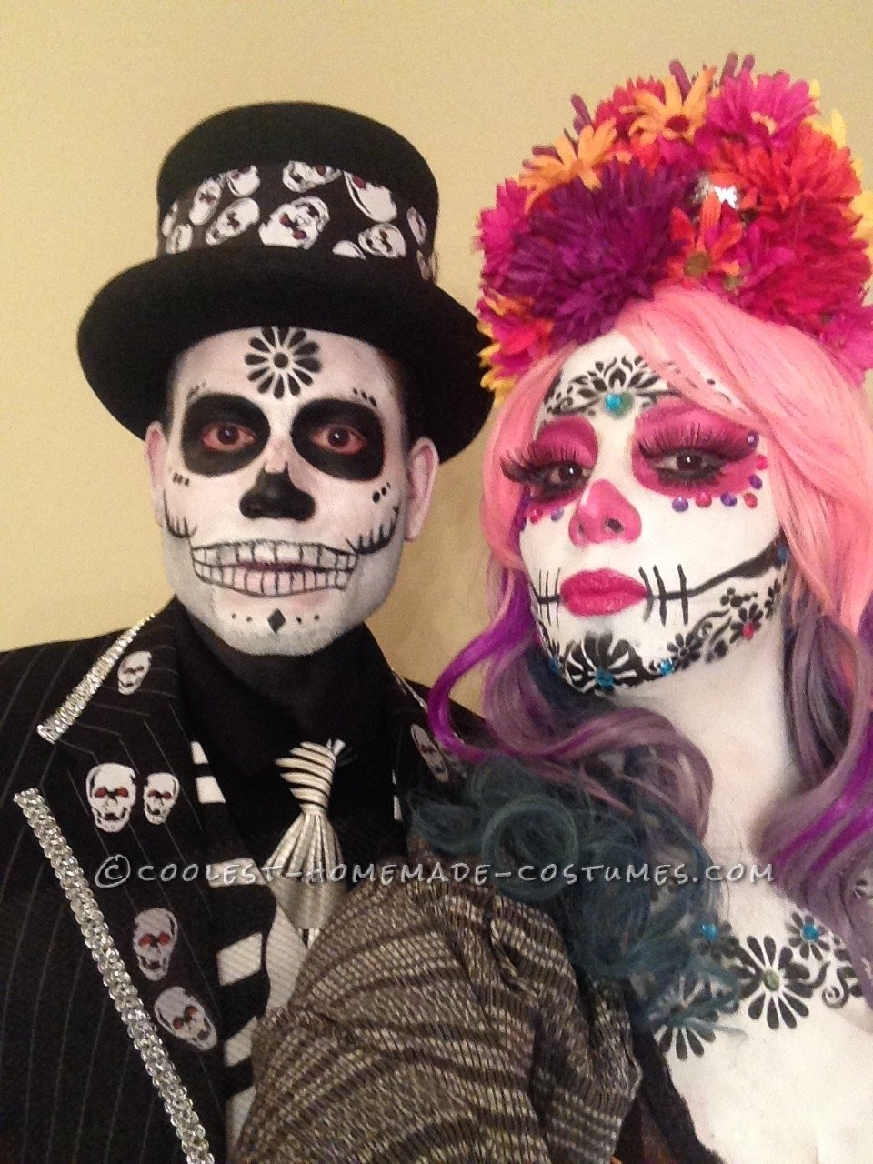 10 Nice Day Of The Dead Costumes Ideas 50 coolest homemade dia de los muertos costumes 1 2020